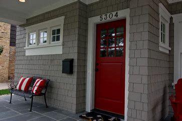modern bungalow great neighborhood homes custom home red door great neighborhood homes home entries