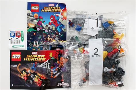 Lego Marvel Heroes 76058 Spidermanghost Rider Team Up Set lego marvel heroes spider ghost rider team up 76058 review the brick fan the
