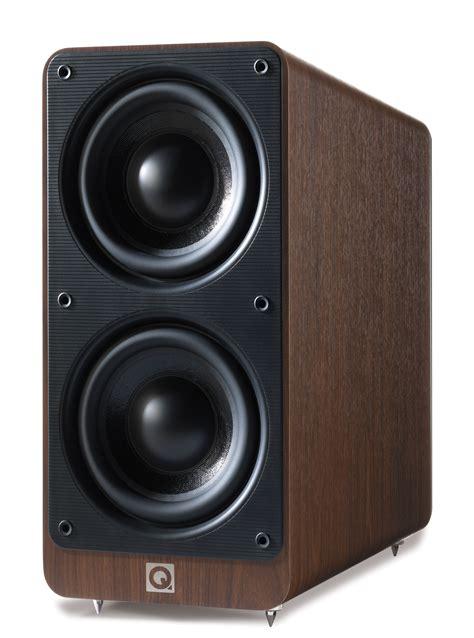 Speaker Q Acoustics q acoustics 2070si walnut active subwoofer speaker q acoustics