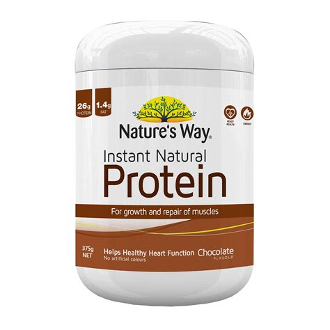 Natures Way Instant Protein Coklat 375g Weight Loss Dan Otot nature s way instant protein chocolate flavour 375g