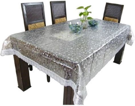 dining table cover transparent dining table cover transparent 3d 6 seater