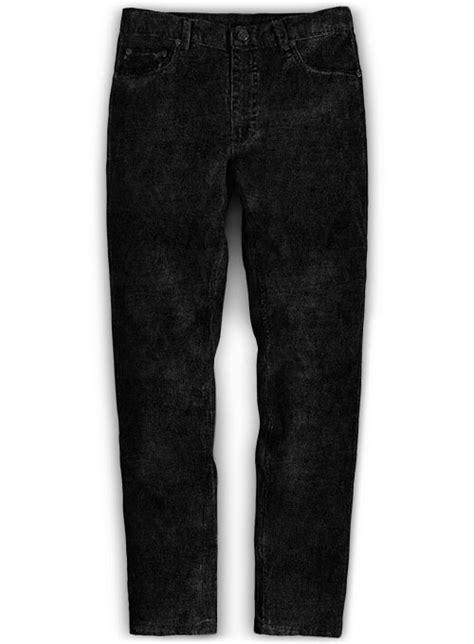 Black Stretch Corduroy Jeans - 21 Wales : MakeYourOwnJeans
