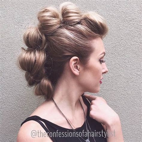 Statement Mohawk Hairstyles 2015   Hairstyles 2017, Hair Colors and Haircuts