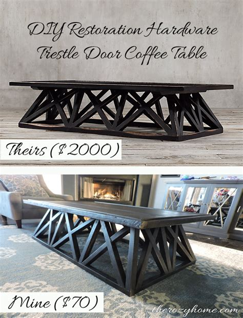 inspired by hind 246 espresso moments 70 diy restoration hardware inspired coffee table hometalk