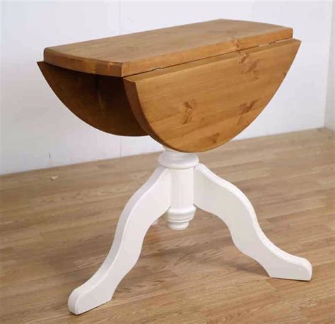 small round drop leaf table thelt co