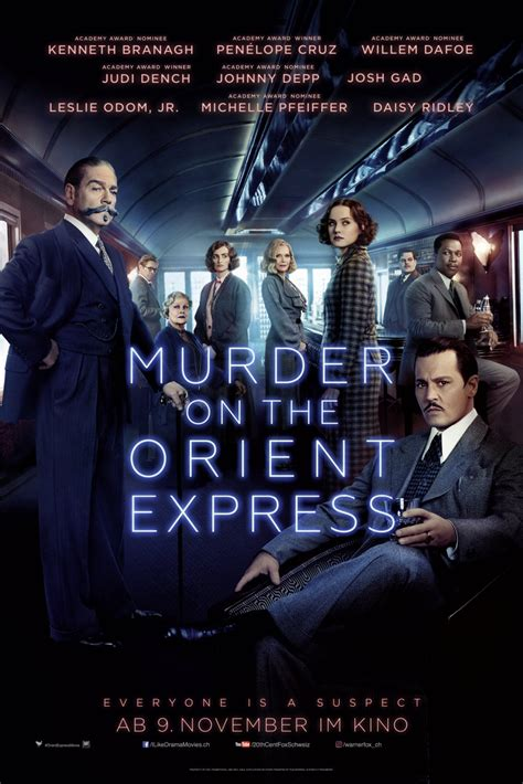 2017 movies murder on the orient express by kenneth branagh new trailer for murder on the orient express blackfilm com read blackfilm com read