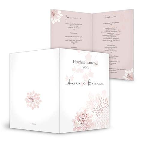 Hochzeitseinladungen Altrosa by Romantische 252 Karte Zur Hochzeit Mit Bl 252 Ten In Altrosa