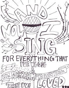 my coloring book song lyrics my chemical drawings lyric search bandz on