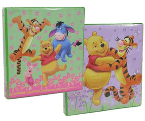 Binder Pooh 20ring disney winnie the pooh and friends stationery binder 3 ring binder with interior pocket and