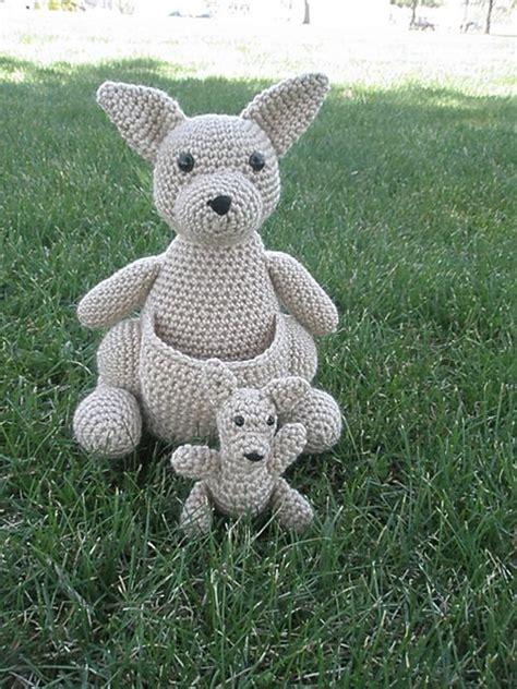 amigurumi kangaroo pattern mommy kangaroo with a baby joey pattern by tammy mehring