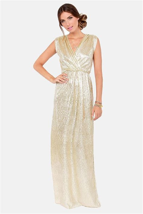 Golden Maxy 4 chiffon dresses bridesmaid dresses with gold shimmer
