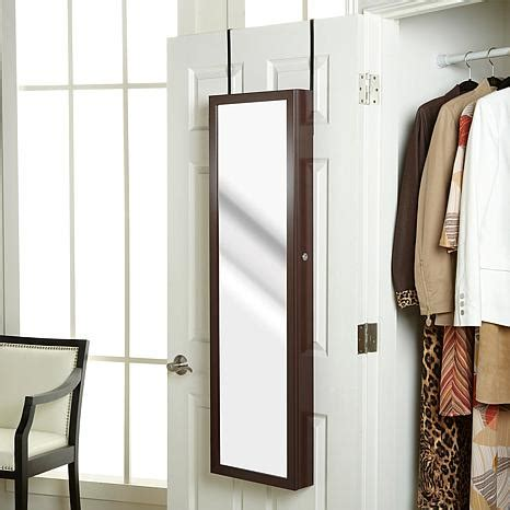 over the door jewelry armoire with full length mirror over the door jewelry armoire with full length mirror 1793084 hsn