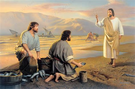 Amazon Home Decor by Fishers Of Men Print In Jesus Christ Ldsbookstore Com