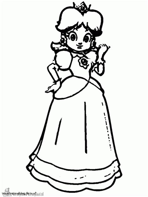 coloring pages of daisy from mario free coloring pages of daisy mario kart