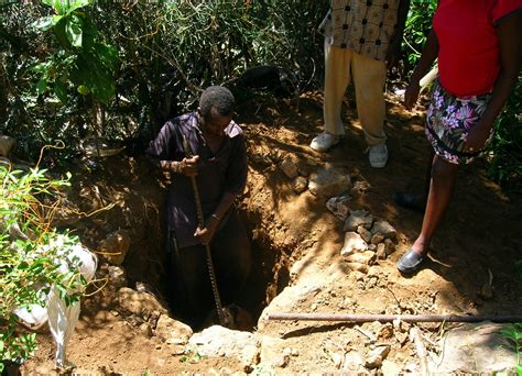how to dig a pit file arborloo construction in cap haitien 1 pit