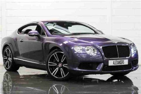 purple bentley bentley 2014 continental 4 0 gt v8 mulliner auto petrol