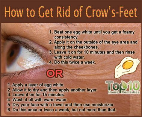 how do i get rid of laugh lines with a hairstyle how to get rid of crow s feet top 10 home remedies