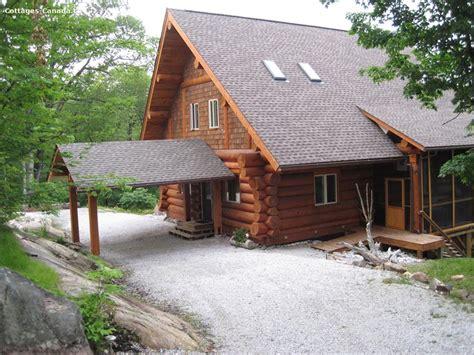 sharbot lake cottage rentals cottage rental ontario south eastern ontario sharbot lake waterfront log cottage