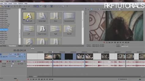 sony vegas pro transition tutorial how to use newbluefx transitions sony vegas tutorial