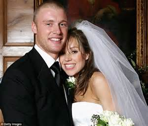 andrew flintoff i put my wife rachael through hell but