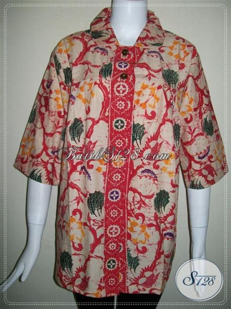 Baju Batik Pejabat Wanita baju batik wanita batik handmade warna merah lasem bls670cb m toko batik 2018