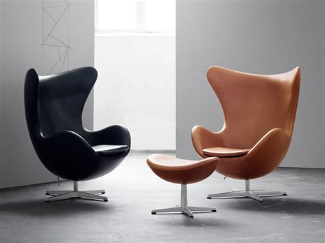 Fritz Hansen Egg Chair buy the fritz hansen egg lounge chair leather at nest co uk