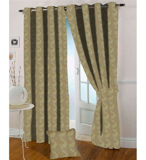 light gold curtains presto light gold colour floral jacquard window curtain by
