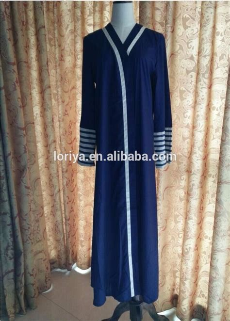 New Fashion Baju Kimono Popaye Salur manufacturer wholeselling muslim kaftan jubah high quality dubai front open abaya designs