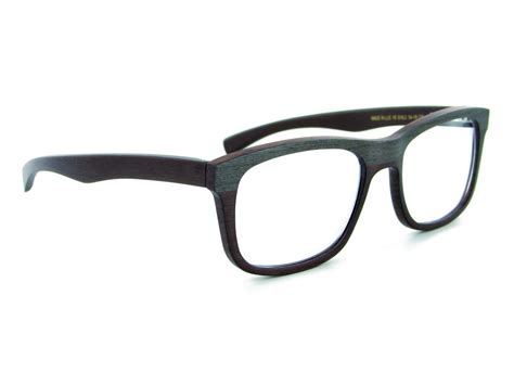 gold and wood eyeglass frames