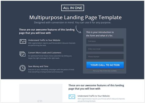 25 Best Marketing Unbounce Landing Page Templates Designmaz Best Landing Page Templates