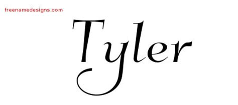 design graphics tyler elegant name tattoo designs tyler free graphic free name