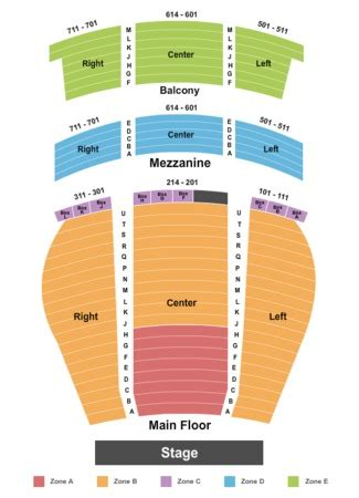 ohio theater seating chart ohio theatre playhouse square cleveland tickets in