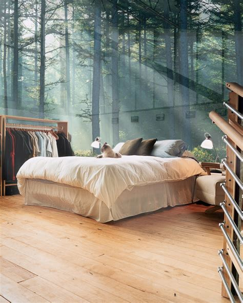 bedroom with glass walls glass wall bedroom sweden photo on sunsurfer