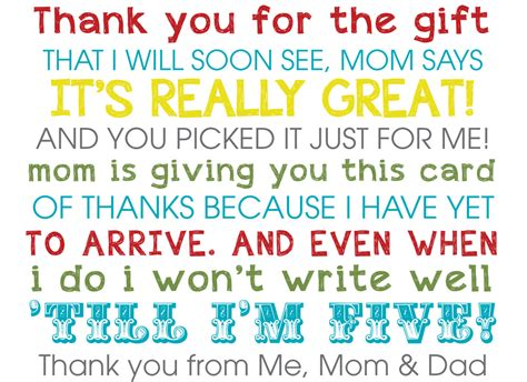 Thank You To Coworkers For Baby Shower Gift by Baby Shower Thank You Wording For Coworkers Just B Cause