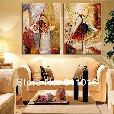 canvas painting for home decoration aliexpress com buy 2 panel wall art pictures oil