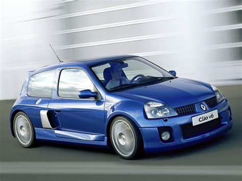 Drivers Generation Cult Driving Perfection Renault Clio V6
