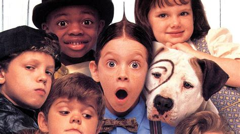 lil rascals puppies rascals child actors reunite for updated poster today