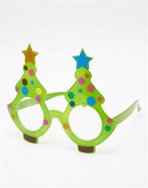 paperchase paperchase christmas tree glasses