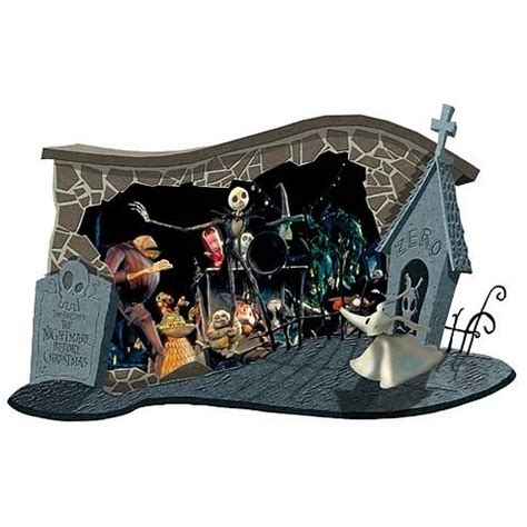 nightmare before christmas home decor nightmare before christmas halloween wall diorama neca