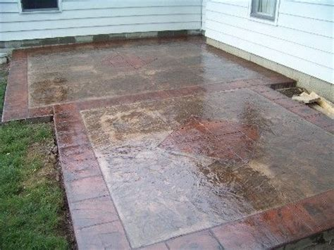 Pinterest Poured Concrete Patio Designs