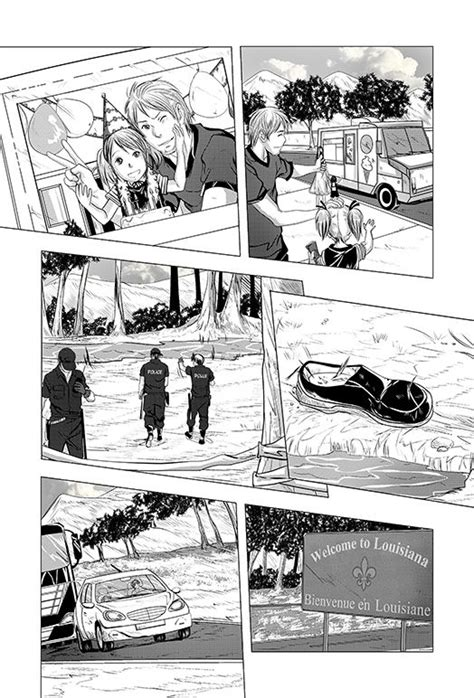 Page two process! of the new graphic novel! | Iron fey