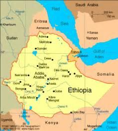 Ethiopia Map In World by Atlas Ethiopia