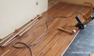 prefinished hardwood flooring installation home
