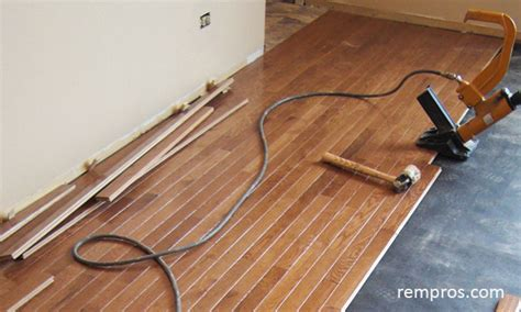 Hardwood Floor Installer by Prefinished Hardwood Flooring Installation Home