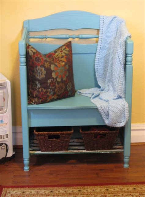 bench made from headboard and footboard pin by jami dunk on diy pinterest