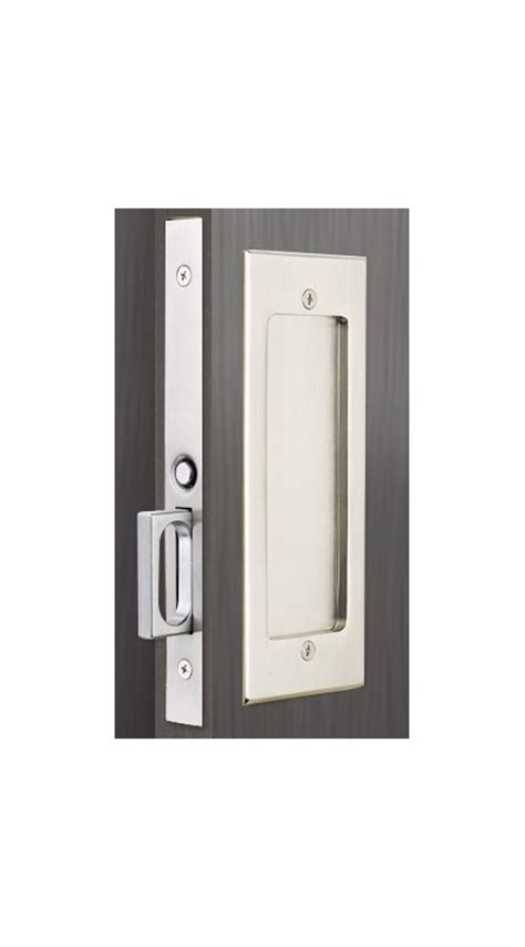 Emtek 2114us26 Polished Chrome 7 1 4 Inch Height Passage Pocket Door Mortise Lock From The Emtek Mortise Lock Template