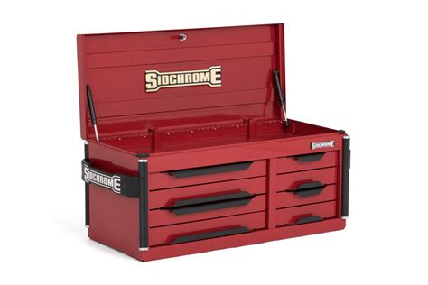 new sidchrome 8 drawer premium toolbox top chest storage