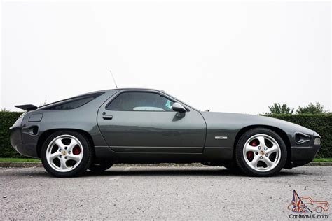 Porsche 928 S Series 4 1991 Auto Metaltic Grey Custom