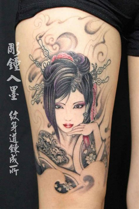 girl japanese tattoo designs 25 best ideas about geisha tattoos on