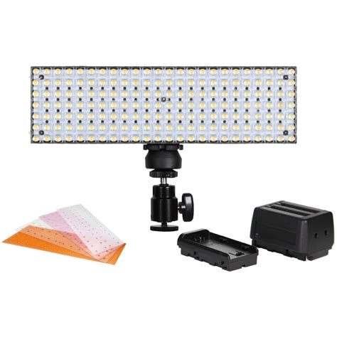 best on camera led light lg 168s camera top daylight modular led light datavision